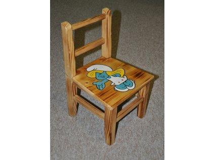 Dětská židlička AD 230 s motivy