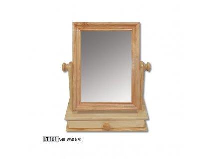 Zrcadlo LT 101 borovice masiv