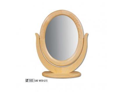Zrcadlo LT 105 borovice masiv